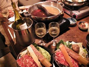 塩ちゃんこ鍋とピリ辛鍋