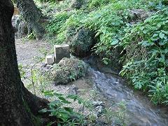受水走水への小道
