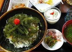 久高島グルメ 「食事処 とくじん」